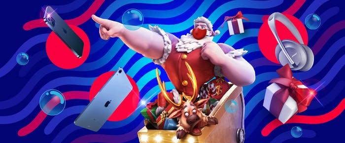 【luckyslots】ฟรีสปิน, iPhone และของขวัญคริสต์มาสมากมายจากซานต้า